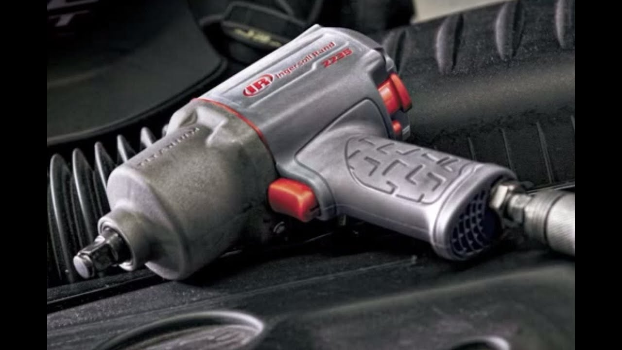 Ingersoll Rand Impactool Air Impact Wrench - 1/2in  Drive, 1350 Ft -Lbs   Max Torque, 6 CFM, Model# 2