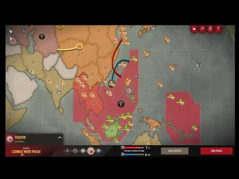 Axis & Allies 1942 Online: TTG (Plat #35 Axis) vs Battlescotch (Plat #9 Allies). Round 5/21  