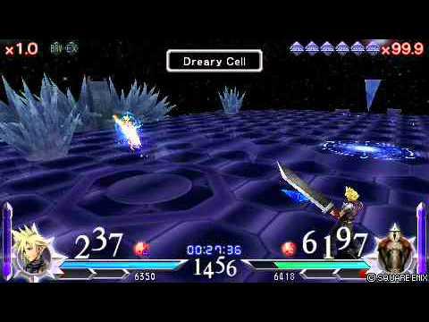 Dissidia 012 Duodecium: Cloud 64 VS. The Emperor 80