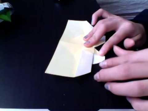 How To Make A Origami Heart Place Card Youtube