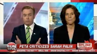 PETA Criticizes Sarah Palin