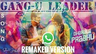 Pakku Vethala song | Whatsapp HD Status Dharala Prabhu | Title Track | Silent JazZ