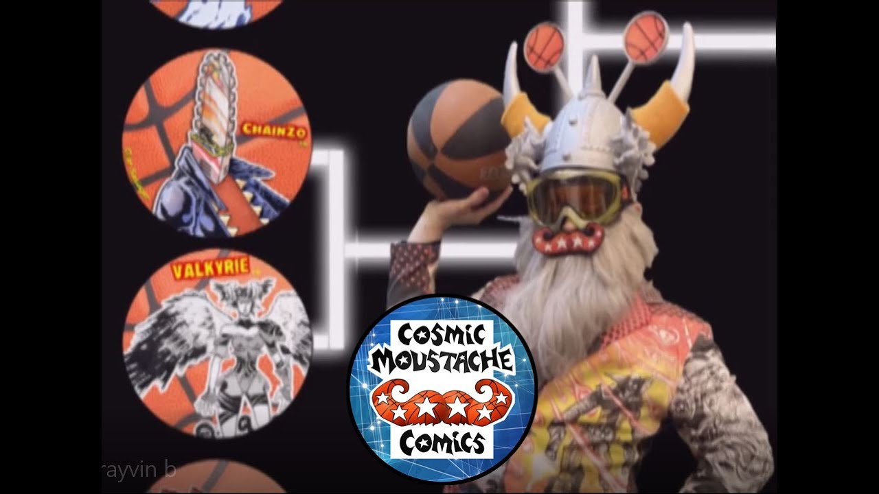ComicBook-Basketball 5: ChainZo Vs Rayvin