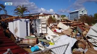 Sky2 Drone footage--Irma aftermath in Goodland