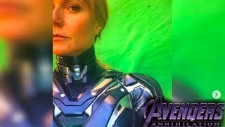 LEAKED Avengers 4 Iron Man Rescue Armor! Pepper Potts!