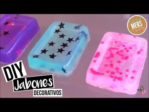 Diy jabones decorativos i mers gallery youtube - Hacer jabones de glicerina decorativos ...