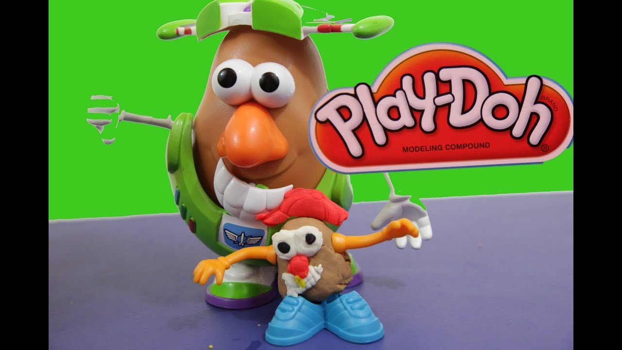 Play Doh Potato Head Meets Disney Toy Story Buzz
