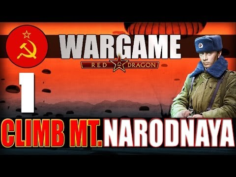 Wargame: Red Dragon -Campaign- Climb Mt. Narodnaya: 1