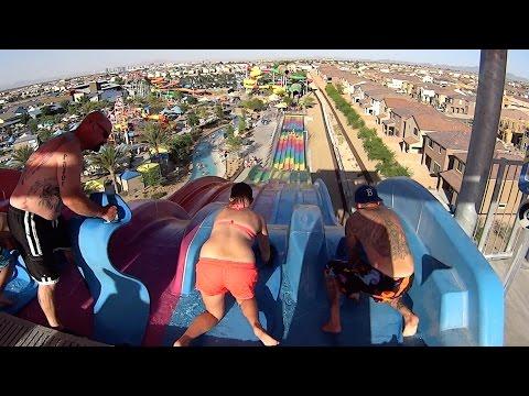 Desert Race Water Slide at Wet