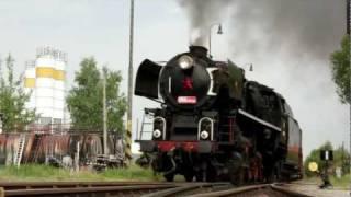 Parní lokomotiva Štokr 556.0506 na trati Veselí nad Lužnicí - České Velenice