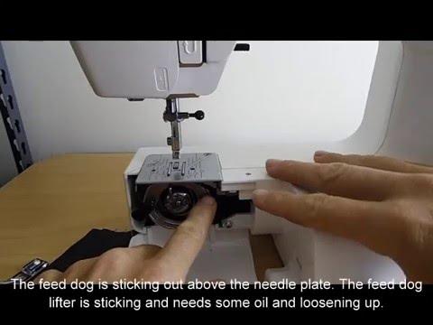 Elna Sew Fun Not Feeding Material YouTube Enchanting Elna 2000 Sewing Machine