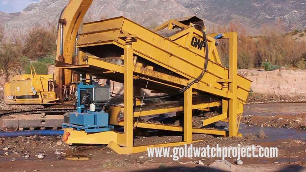 Gold Mining Equipment For Sale by Gold Watch Project Wash ...