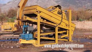 Gold Mining Equipment For Sale by Gold Watch Project Wash Plants