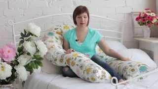 Обзор подушек для беременных Sofuto(Подробный видео-обзор подушек для беременных ТМ Sofuto: U-образной, C-образной и подушки-бумеранг. В ролике испо..., 2015-05-10T18:44:27.000Z)