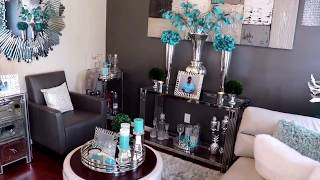 **MUST SEE**Summer Living Room Tour 2018. Small spaces
