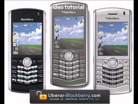 Liberar Blackberry Pearl 8100, 8110 y 8120 - Liberar por IMEI