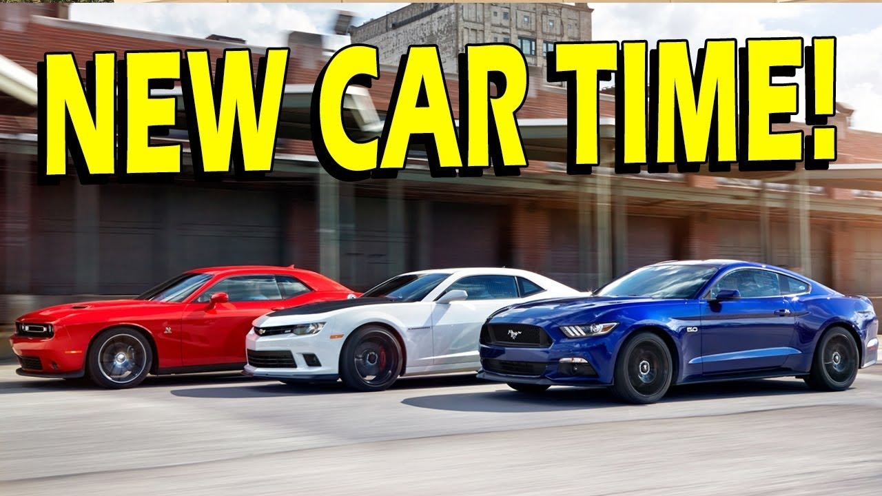 Getting an New Car or Truck! Camaro, Mustang, Challenger, Truck ...