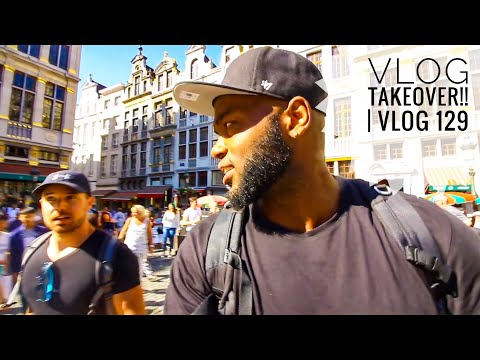 "Welcome to BRUSSELS, BELGIUM!!!   Vlog 129     ""Please don"