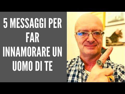 5 messaggi per far innamorare un uomo di te