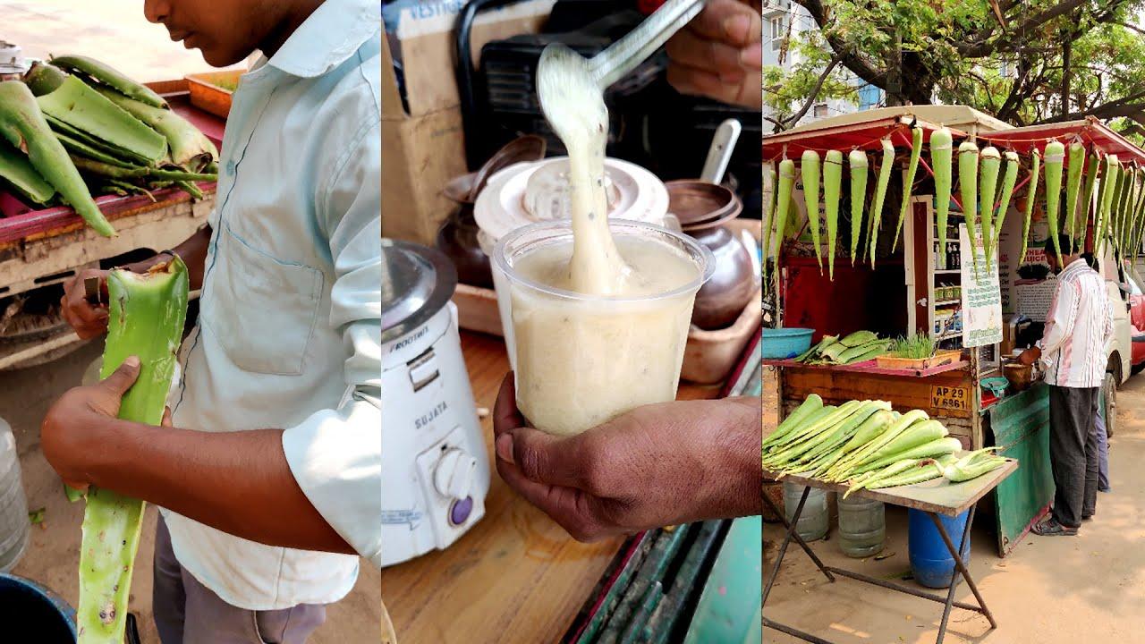Young Boy Sells Healthy Alovera Juice 😱 in Hyderabad #Shorts