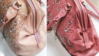 видео Ремонт кожаных сумок