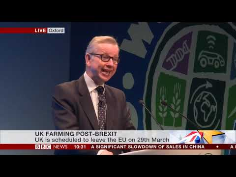Oxford Farming Conference 2019 - key points from Michael Gove's address