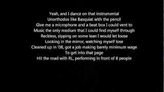 Macklemore X Ryan Lewis- Victory Lap (Lyrics)