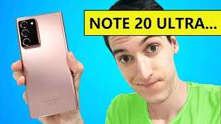 PERO KHÉ?? Samsung Galaxy Note 20 ULTRA, en español - Pre Review