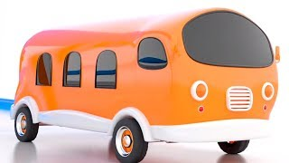 Learn Colors with Vehicles   Kindergarten Videos for Children   Kids Rhymes & Baby Songs
