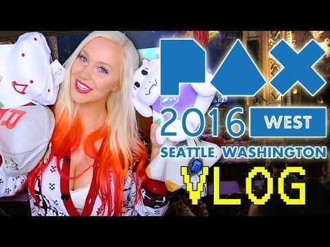PAX West 2016 Vlog & Recap! - 동영상