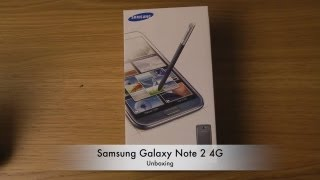 Samsung Galaxy Note 2 4G - Unboxing