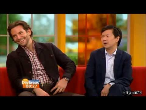 Ken Jeong and Bradley Cooper talks about Mr. Chow in The Hangover