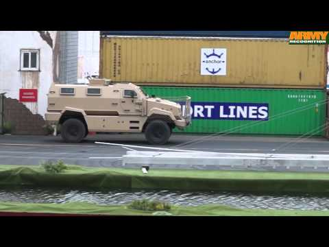 IDEX 2015 live demonstration land mobility track defense Abu Dhabi UAE United Arab Emirates