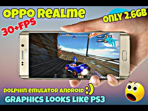 [2 6Gb] Download : Sonic Sega All Stars Racing || Dolphin emulator Android  || Oppo realme || HD GAM