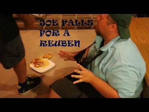 JOE FALLS FOR A REUBEN!!