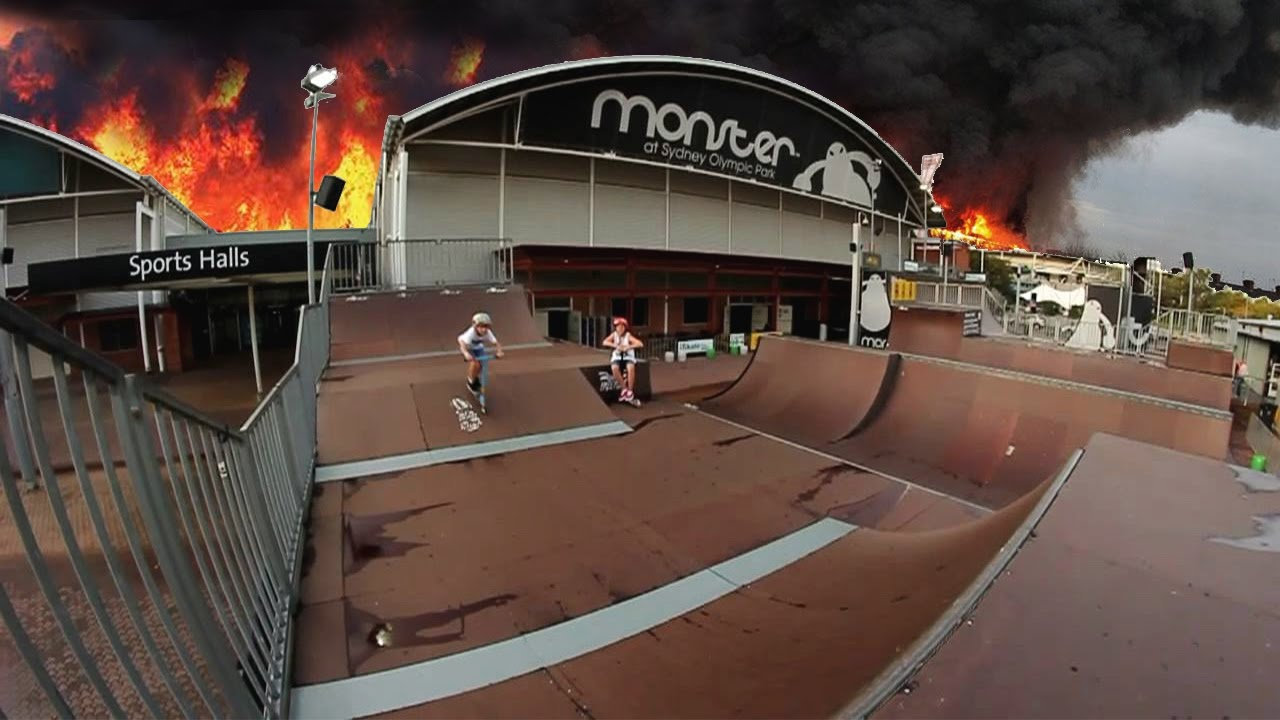 MONSTER SKATEPARK FIRE TRUE STORY