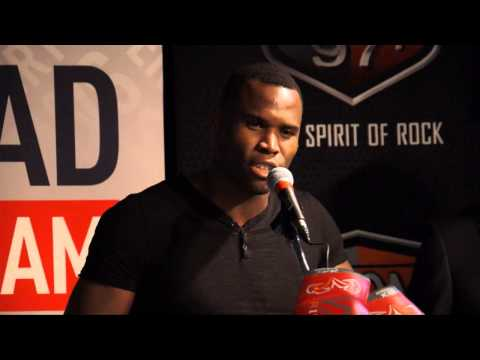 Stevenson vs Cloud Press Conference and Face To Face