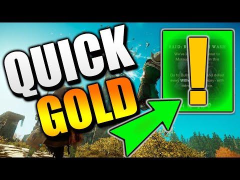 New World MMO RICH QUICK! Massive Money Making In New World - New World Gold Making Guide!