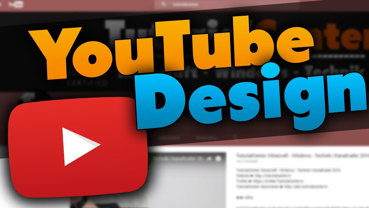 Imagini pentru YouTube Design