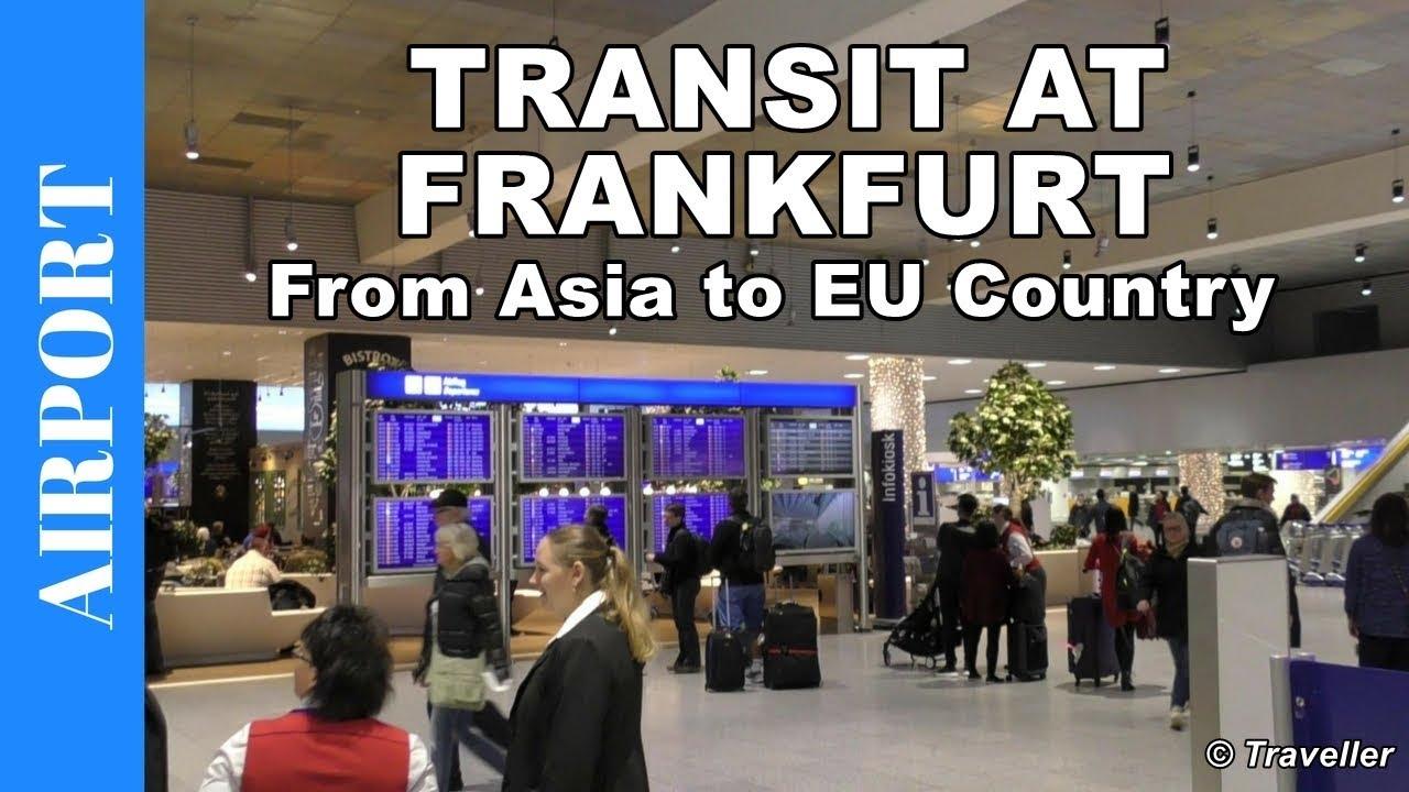 transfer walk at frankfurt airport terminal 1 connection flight asian to eu flight transfer. Black Bedroom Furniture Sets. Home Design Ideas
