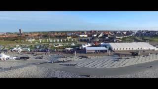 White Sands Festival Norderney 2015 aus der Luft / INSPIRE 1