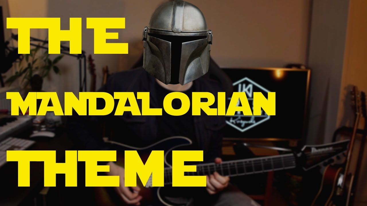 The Mandalorian Theme - Metal Guitar Cover
