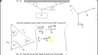 Physics 12 U10L1 Translational Equilibrium