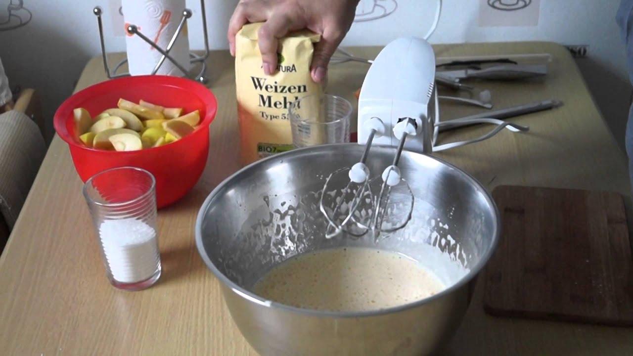 Apfelkuchen Leicht Gemacht Einfach Schnell Und Lecker