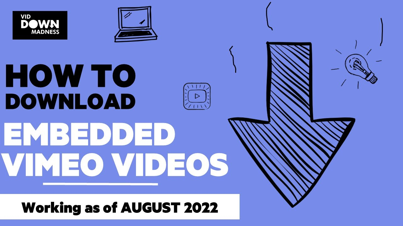 Solved: How to download embedded Vimeo videos