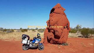 Coast to the Red Centre, the dirt way
