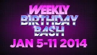 Celebrity Birthdays!