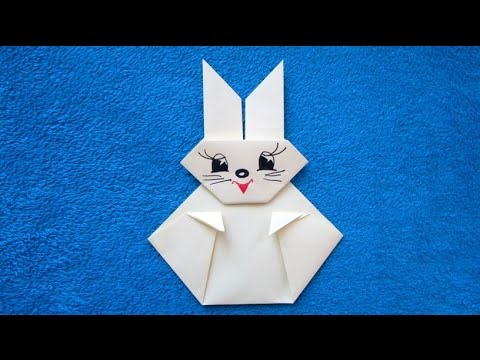 origami facile lapin youtube. Black Bedroom Furniture Sets. Home Design Ideas