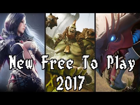 Top Ten Upcoming Free To Play Games 2017 by Skylent