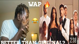 Zane - WAP ( Offİcial Music Video Cover) *Reaction*